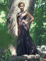 barna alkalmi ruha selyemből