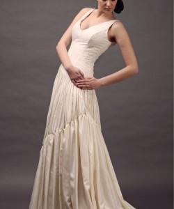 shantung esküvői ruha