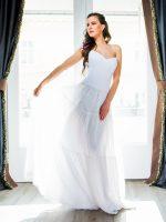 menyasszonyi ruha organza
