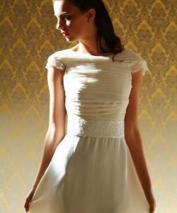 esküvői ruha selyem