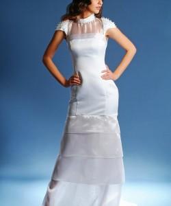 punk esküvői ruha