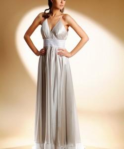 esküvői ruha ezüst selyem