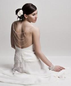 yöngyös muszlin esküvői ruha