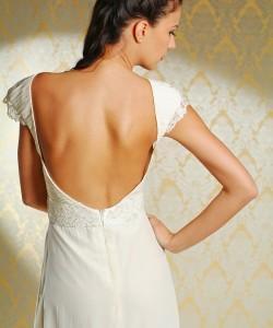 esküvői ruha hátrész