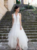 esküvői ruha tüllös