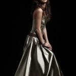 ezüst alkalmi ruha