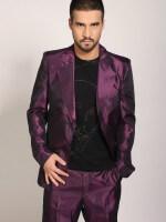 lila színű taft öltöny