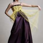 Estélyi ruha lila színű