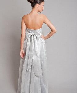 ezüst masnis menyasszonyi ruha