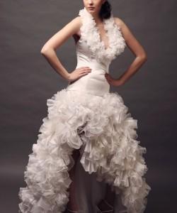 Nagy esküvői ruha