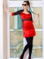 muszlin szatén alkalmi ruha