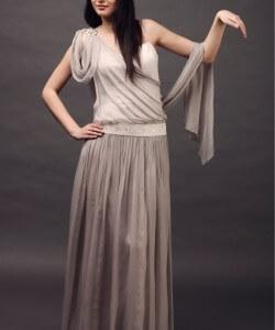 római ihletésű esküvői ruha