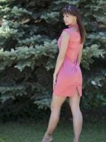 rózsaszín menyecske ruha