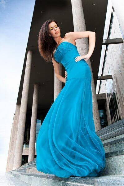 e4c46014cc türkizkék organza estélyi ruha | alkalmi ruhák , esküvői ruhák